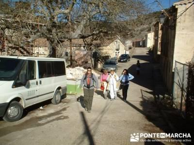 Cañón del Río Dulce y Sigüenza; trekking semana santa; excursiones en semana santa